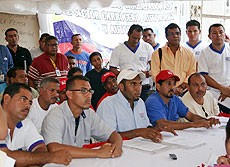 Workers of MMC and the Anzoategui UNT