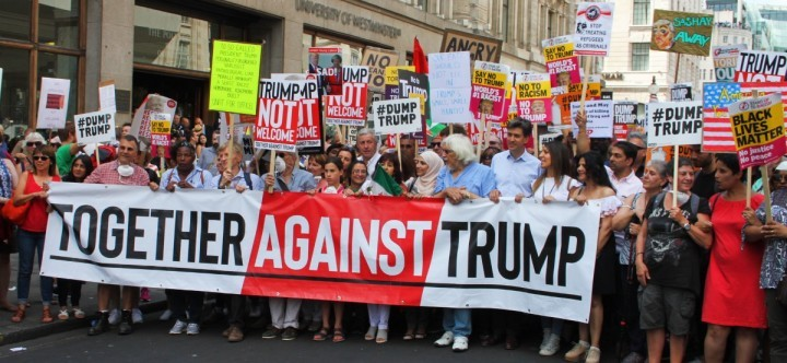 Trump demo London 3 Image Socialist Appeal