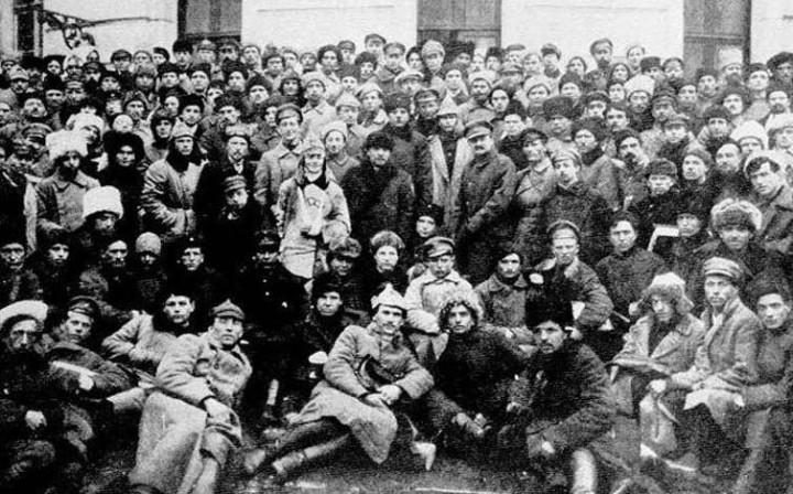 Lenin Trotsky bolsjevikiske parti Image public domain