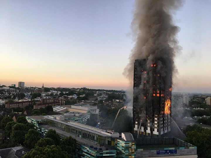 Grenfell Tower fire Image Natalie Oxford