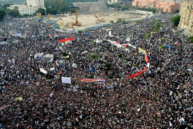 Tahrir Square wikicommons
