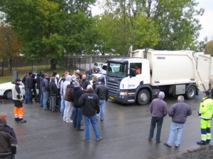 Denmark: The refuse collectors' conflict - enough is enough!
