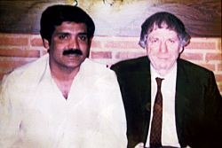 Ted Grant and Lal Khan, just before he returned to Pakistan