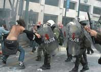 Greek government uses military-police methods against protesting youth