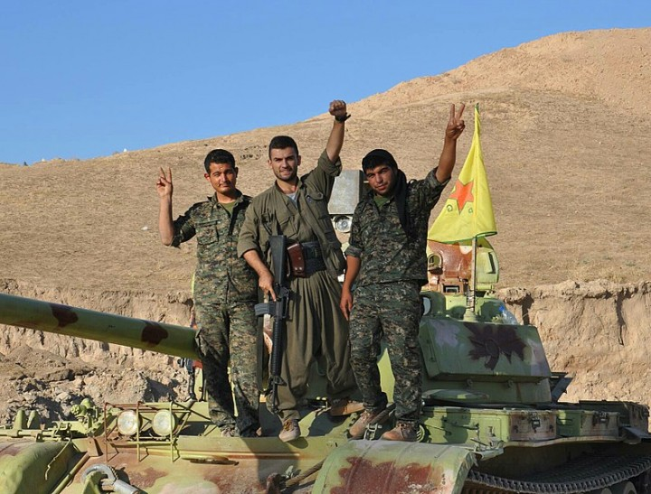 790px Kurdish PKK YPG Fighters Image Kurdish Struggle
