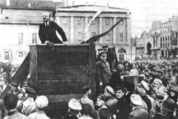 The October Revolution in Russia was a peaceful affair, in spite of what many think.