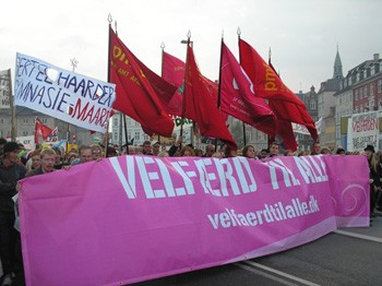 Denmark: Massive protest movement against cuts – class struggle on the agenda