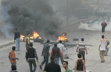 Clash in Mahalla City