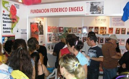 Frederick Engels Foundation at the Havana Book Fair