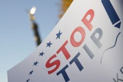 Stop TTIP. Photo: Mehr Demokratie