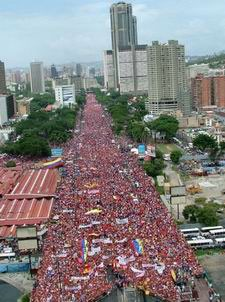 Mass Rally in Caracas