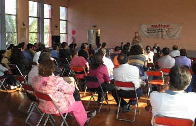 Second successful public meeting in Puebla (Mexico)