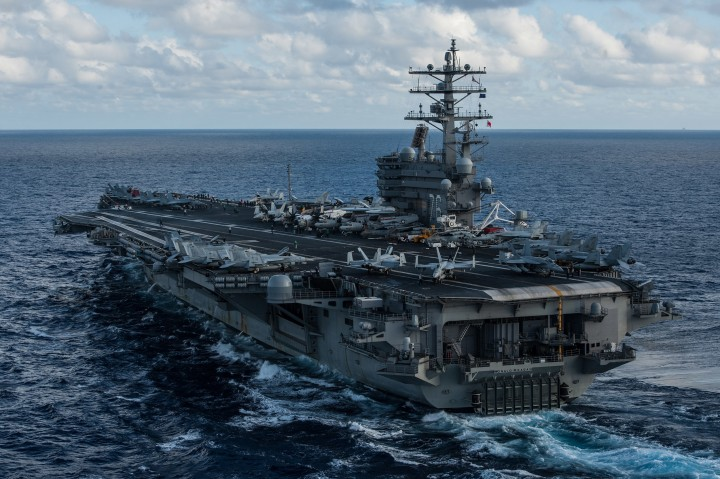 Aircraft carrier Image US Navy