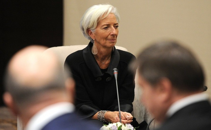 Christine Lagarde the managing director of the IMF Image Ru