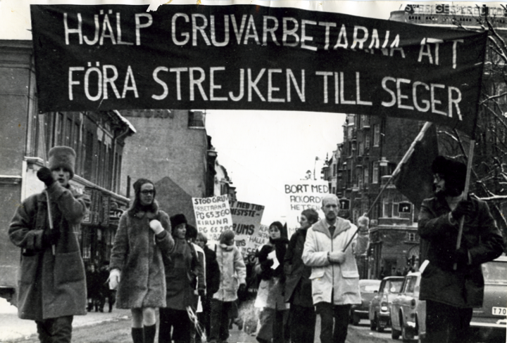 Swedish miners strike 6 Image