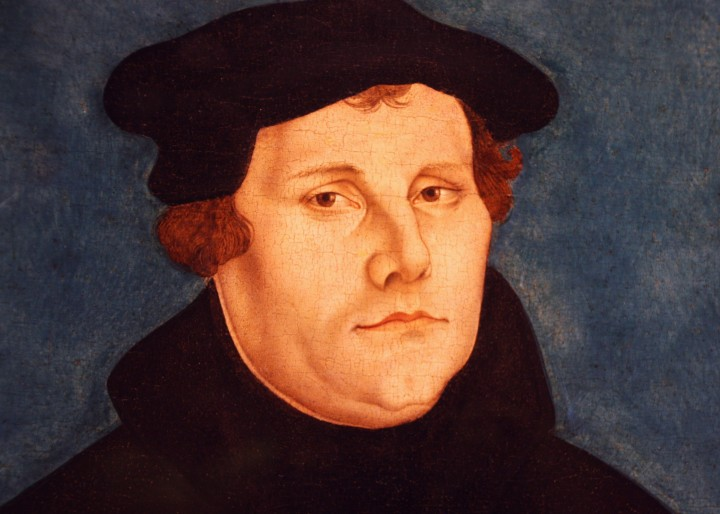 MartinLuther workshopCranachElder Image public domain