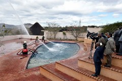 Media visits President Jacob Zuma's Nkandla homestead, 26 Jul 2015