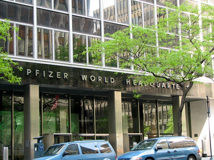 New York City Pfizer World Headquarters Image Norbert Nagel