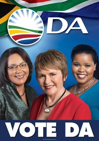 DA 2011 election poster / Wikicommons