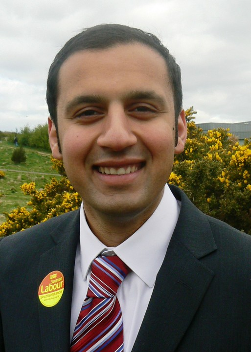 Anas Sarwar the Blairite candidate was handily defeated Image Flickr Scottish Labour
