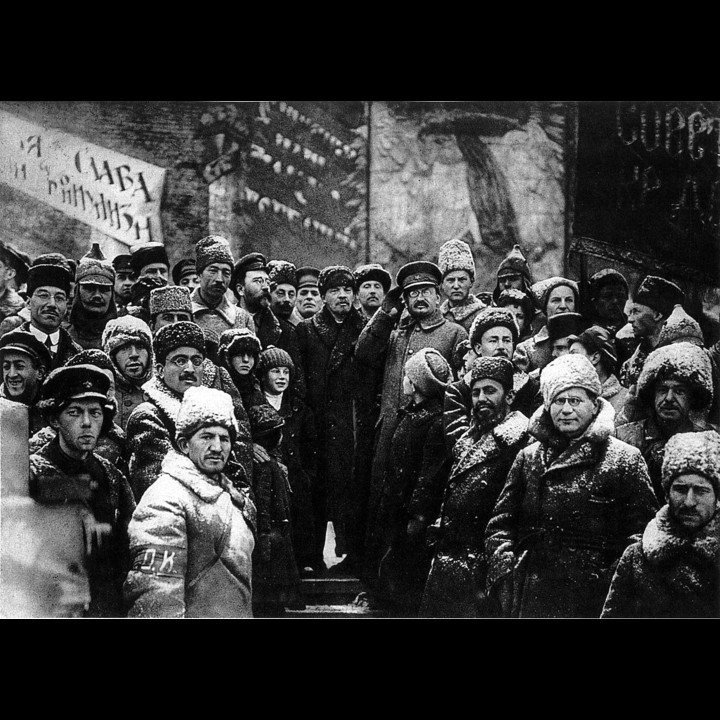 Lenin and Trotsky Public Domain PD 1923