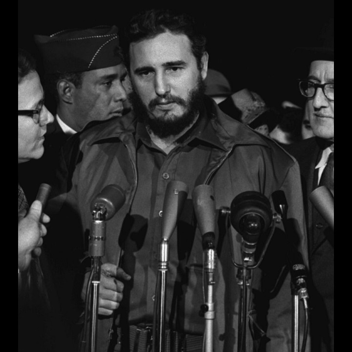 Fidel Castro Washington 1959 Public Domain