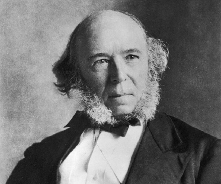 Herbert Spencer Image public domain