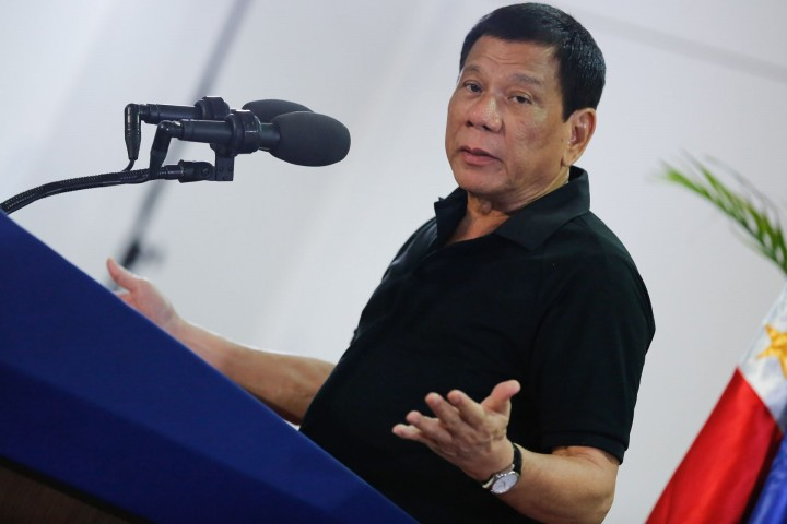 Rodrigo Duterte has moved closer to China Image fair use