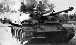 T 55 tanks in the Bangladesh Liberation War