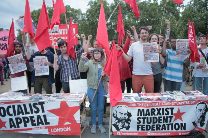 group photo ge demo sept 2019 Image Socialist Appeal