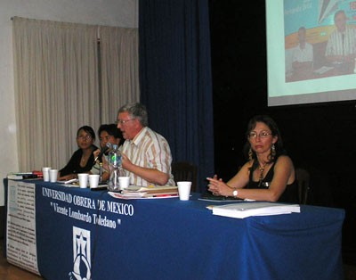 Alan Woods speaks to the Workers' University of Mexico