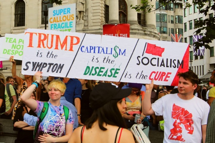 Trump demo London 4 Image Socialist Appeal