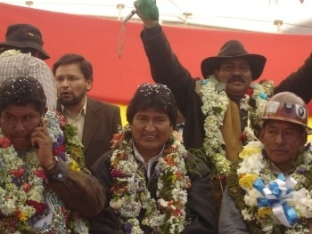 The government of Evo Morales have watered down the proposal for a constitution in negotiations with the oligarchy.
