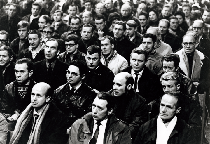 Swedish miners strike 3B Image