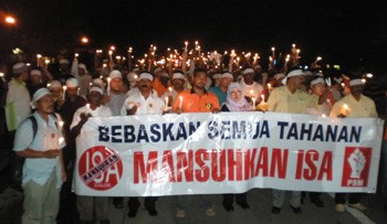 Abolish the Internal Security Act in Malaysia