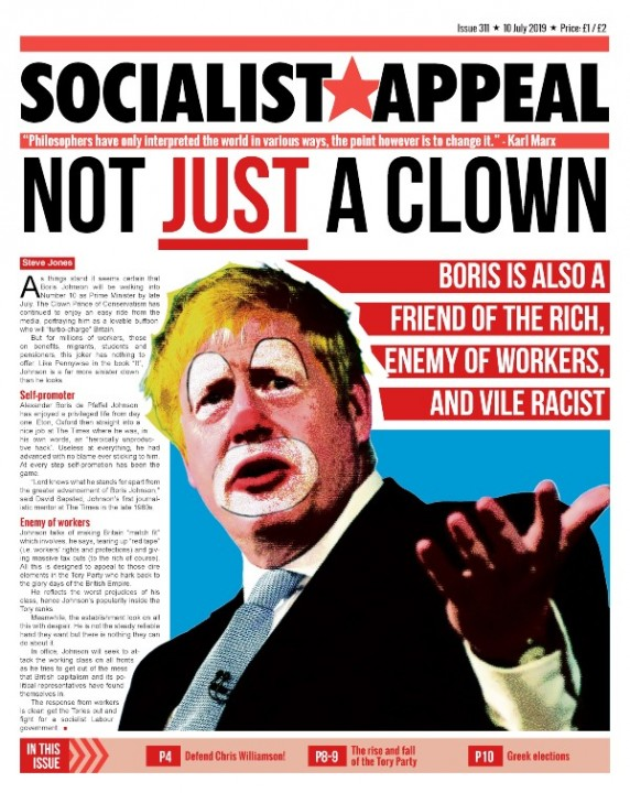 Issue 311 Page 01 Image Socialist Appeal