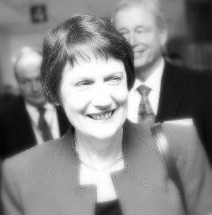Helen Clark resigned as leader of the Labour Party when she graciously accepted defeat on election night. Photo by richard sihamau on Flickr.