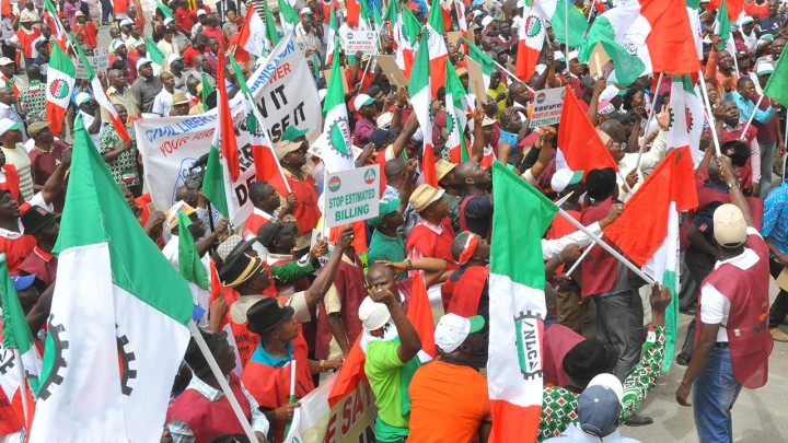 Nigerian workers begin struggle for a new minimum wage