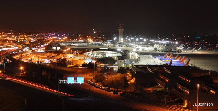 Lambert International Airport in St. Louis bought out over 3000 black workers homes to expand its runway Image Flickr JL Johnson