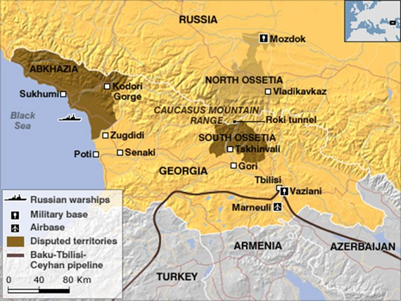 War in South Ossetia