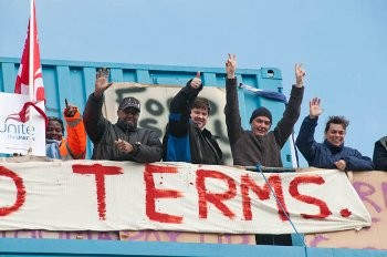 Visteon workers occupy plant