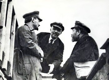 "Lenin, severely rebuked the old Bolshevik leaders – Stalin, Kamenev and others, who in the name of the ""democratic dictatorship of the proletariat and the peasantry"" supported the provisional government."