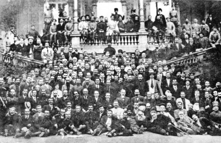 Caucasian Council of Deputies Tiflis 1917 Image public domain