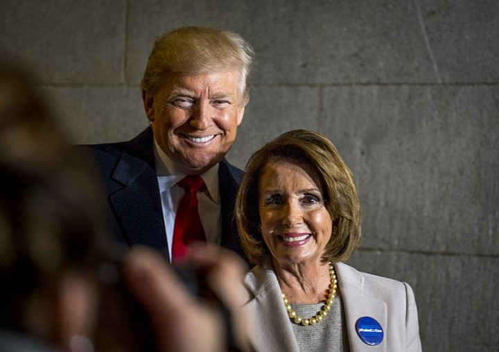 Trump and Nancy Pelosi Image Benjamin Kerensa
