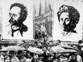 Karl Liebknecht and Rosa Luxemburg