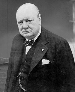 churchill portrait