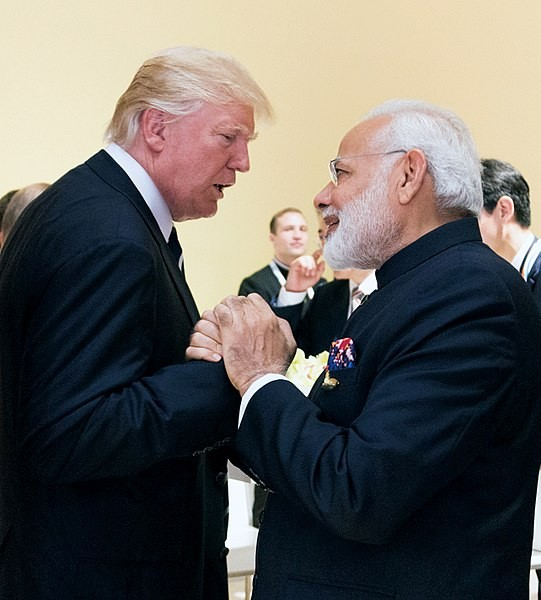 Trump Modi Image White House