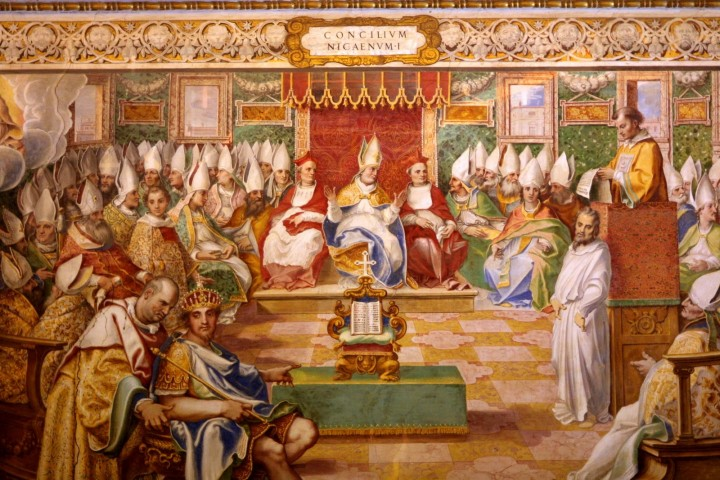 The Council of Nicaea Image public domain