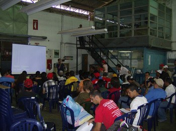 Marxist Youth Gathering with 85 youth from all over Venezuela