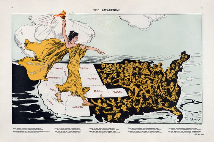 Womens suffrage in the USA Image Cornell University Library
